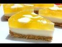 Торт Желе Лимонный Мусс Без Выпечки Все Будут в Восторге