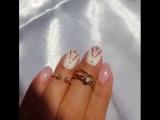 Солнечный , воскресный день и такой вот несложный дизайн на коротких ногтях 🤗