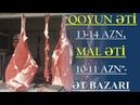 Millət bezib vallah camaat yaşamaqdan bezib 14 manata ət olar ƏT BAZARI Şirvan Bazarın günü