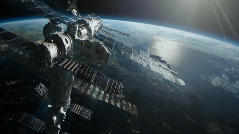 Эпизод из фильма Гравитация часть 10 (Падение китайской станции) FUUL HD 1080p