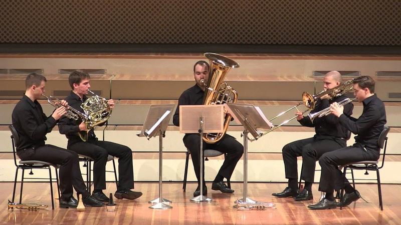 Malcolm Arnold - Brass Quintet No. 1 Op. 73 - III. Con brio
