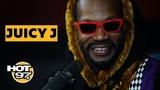 Juicy J On Three 6 Mafia Reunion, Tells The Story Behind 'Slob On My Knob' &amp Remembers Stan Lee