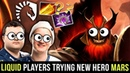 Team Liquid Players Testing New Hero Mars With New Itembuilds - Radiance or Nullifier Build Dota 2