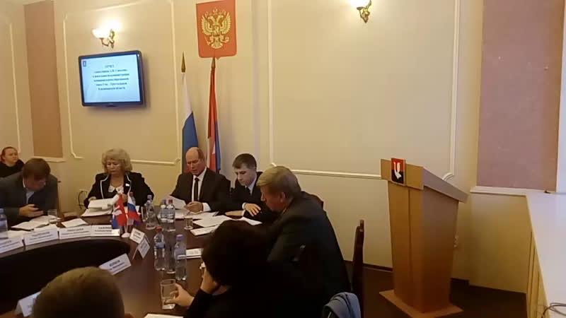 Отчёт главы Гусь-Хрустального А.Соколова о работе. вГусе (vk.com/vguse)