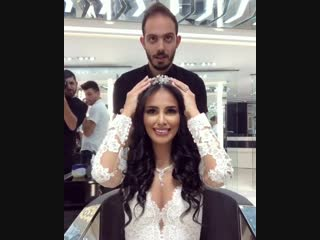 Красивый свадебный образ получился?