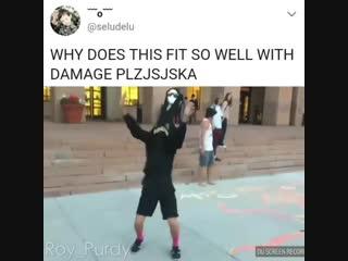 Damage choreo