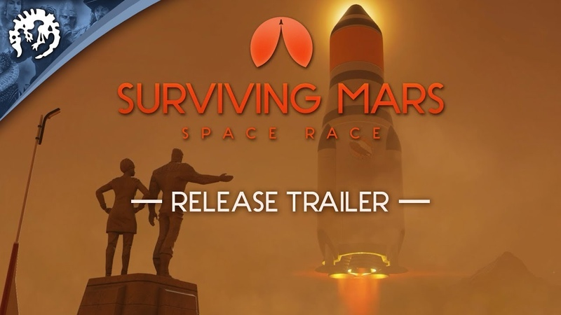 Релизный трейлер Surviving Mars Space Race