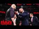 The McMahon family gives Baron Corbin a chance at redemption Raw Dec 17 2018