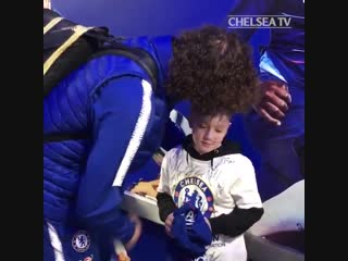 This from @davidluiz_4 after the game. chehud