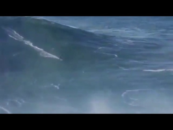 100 feet waves