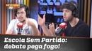 """Escola Sem Partido: debate pega fogo no Morning Show. Você é """"team Caio"""" ou """"team Joel""""?"""