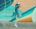 Girl dancing Shuffle