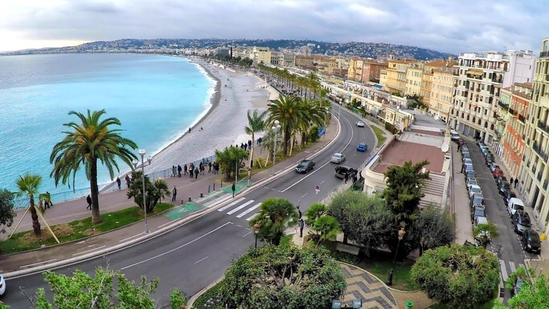 Wonderful View of Nice France A Walk to the Top of Parc du Chateau