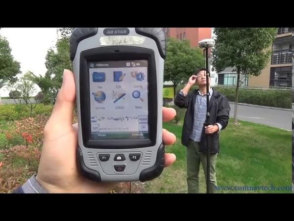 Hướng dẫn sử dụng ComNav T300 | Bài 4 - Sửa lỗi fload to fix khi đo địa hình