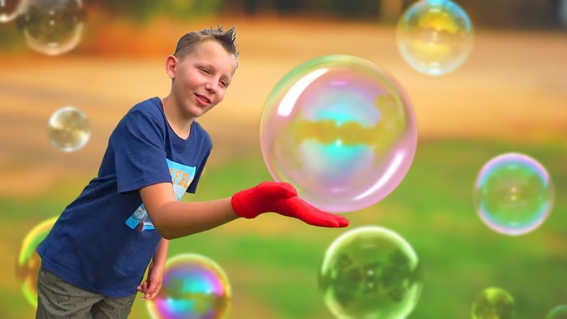 Атака мыльных пузырей HOP HOP BANKI