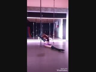 Инесса Арманд, импровизация. Pole dance