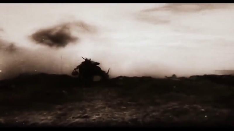 Гибель советских солдат в бою. Редкие кадры кинохроники ВОВ.