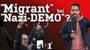 Migrant Reza macht Radikalen-Test auf Demo   451 Grad   75