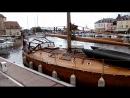 Анфлер порт на реке Сена устье.