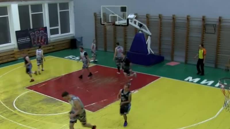 POSTER dunk (NBL2018\19. Serebrianka - MTS-PAS team. 21.10.2018 )