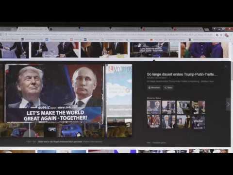 QAnon, Putin, Trump schmieden Lichtallianz