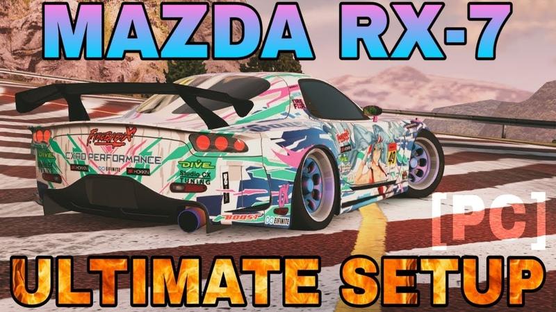 PC Mazda RX7 DLC Ultimate Setup Falcon RZ CarX Drift Racing Online