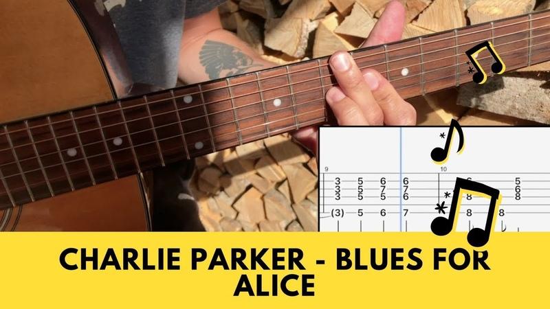 Blues For Alice Etudé (w/tabs)