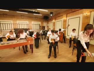 Русский оркестр играет Раммштайн