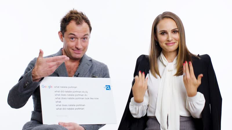 Dazed. Natalie Portman and Jude Law answer the internet's most searched questions about themselves