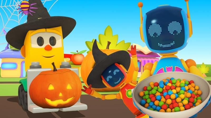 Dessin animé éducatif pour enfants du magasin de Lifty le Halloween
