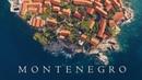 Best of all Montenegro Budva Kotor travel drone aerial Вся Черногория Будва Котор с высоты