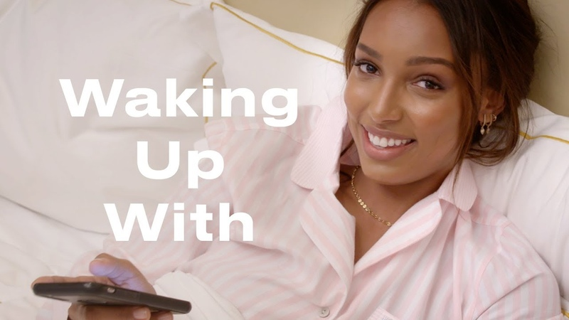 This is Victoria's Secret Angel Jasmine Tookes' Morning Routine | Waking Up With | ELLE