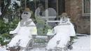 ⛄Смешные снеговики. Приколы. Видео шоу⛄