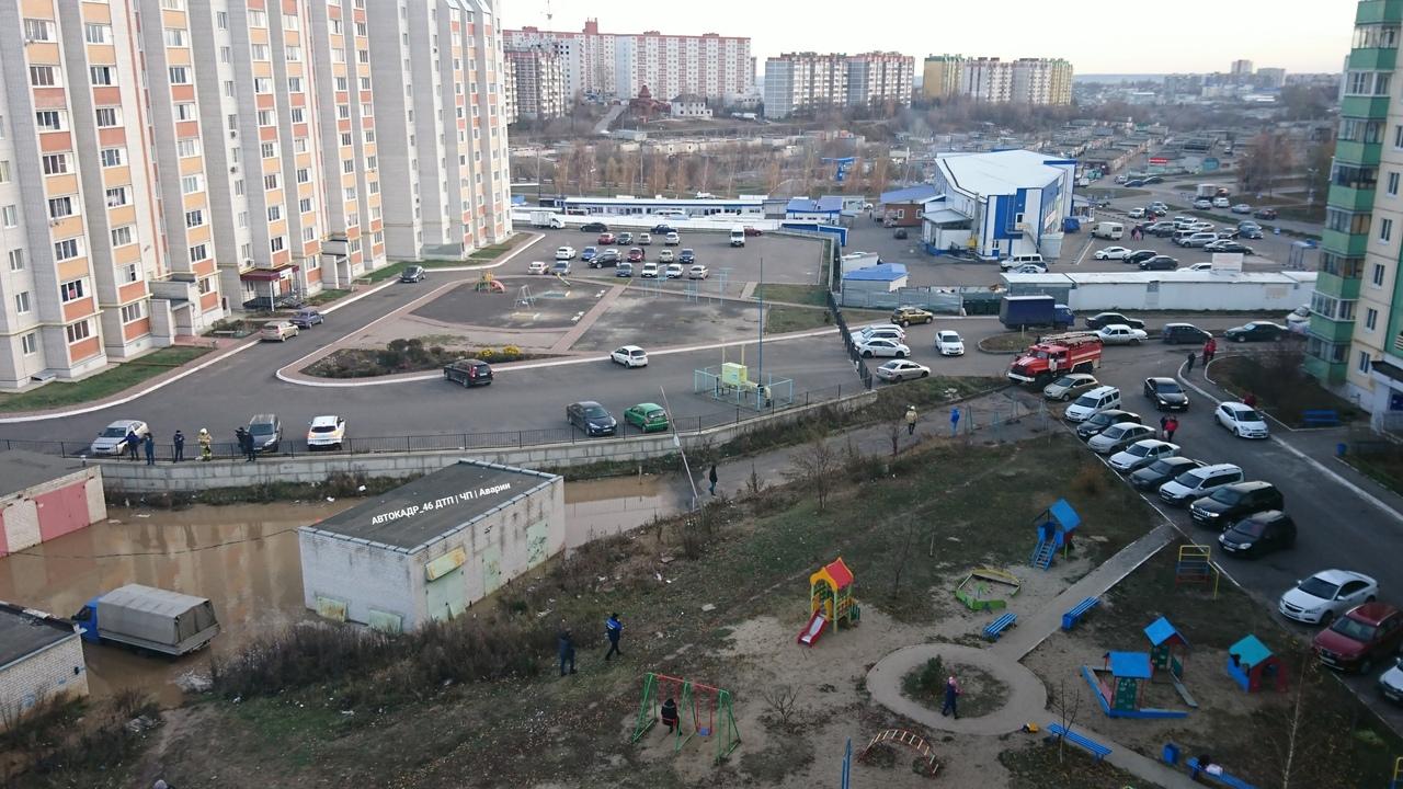 На проспекте Хрущева произошла коммунальная авария