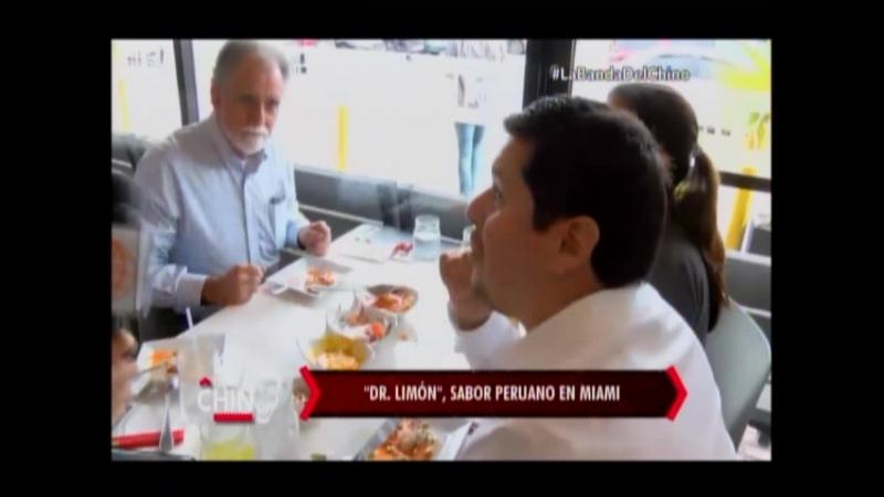 Nota - Dr Limon Sabor Peruano en Miami