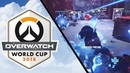 Huge Earthshatter combo by Fusions and Kyb Overwatch World Cup 2018