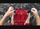 Крепление сумки с помощью крючков