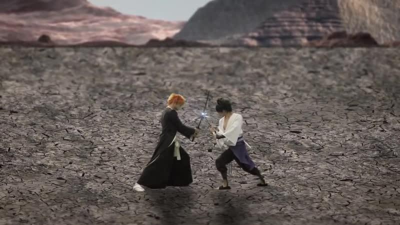 Sasuke vs Ichigo / Саске против Ичиго / Naruto VS Bleach
