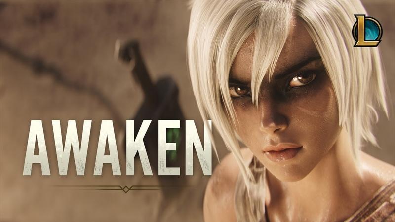 Awaken ft Valerie Broussard League of Legends Cinematic Season 2019