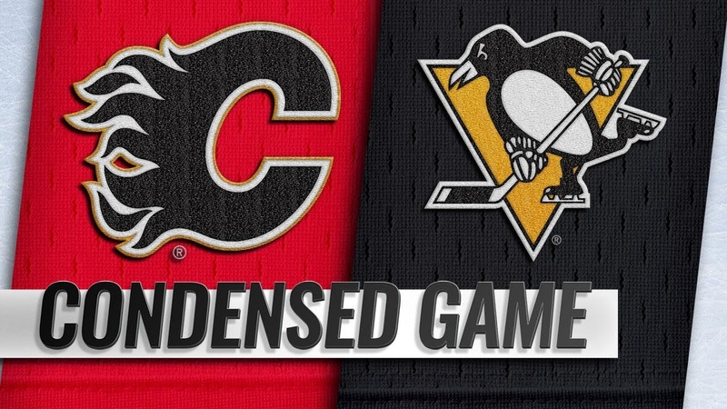 02/16/19 Condensed Game: Flames @ Penguins