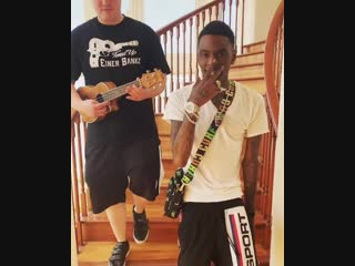 Soulja boy & einer bankz — crank that (acoustic remix)