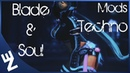 BNS - Blade Soul | Mod | Costume Recolor Black / Blue Technomancer -- Stella Alamarr