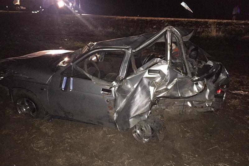 На Кубани в Ейском районе пьяный водитель спровоцировал ДТП, есть пострадавшие