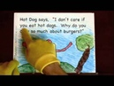 Reading Comprehension Activity Pizza and Hot Dog Meet Burger 2