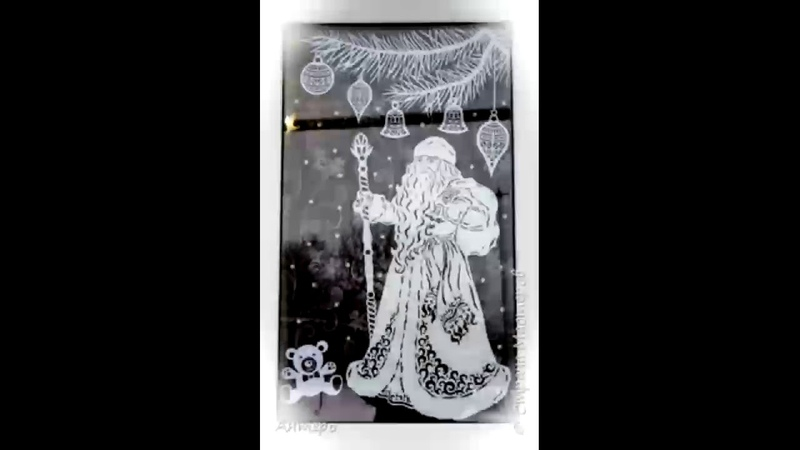Вытынанки новогоднее украшение окон