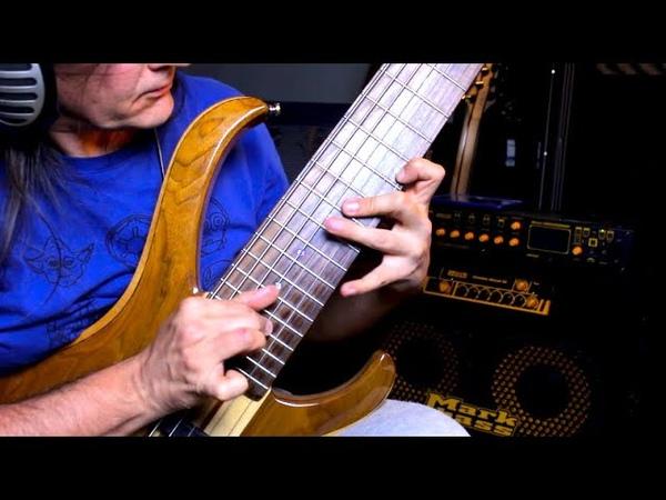 Sweeping on 7 strings Bass ( Hybrid Ashula 2 part II)