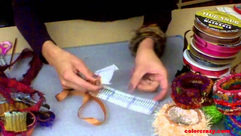 How to Make Locker Hooked Bangle Bracelets