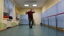Crunkchata Toss it up by Ilya Vyacheslavov Bachata Moderna Footwork