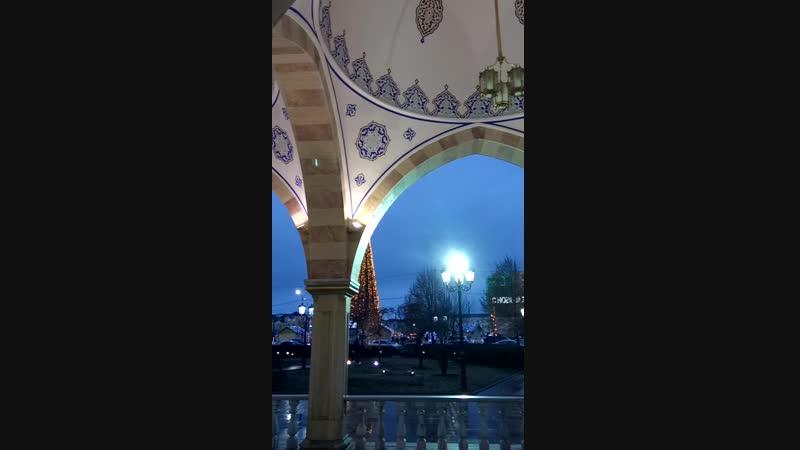 Мечеть Сердце Чечни. Грозный. Азан (Призыв на молитву)