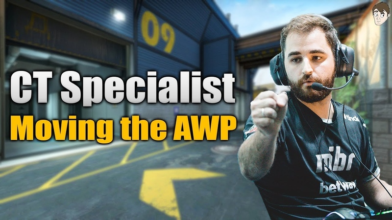 CT Specialist: Fallen's Constantly Moving AWP on Train